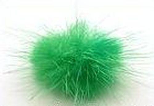Fellpuschel ca. 20 - 30mm grün 1Stk