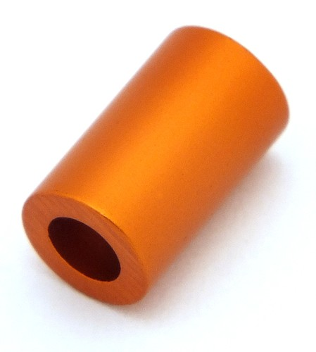 Loxalu® Beads Röhrchen ca. 10 x 6mm orange