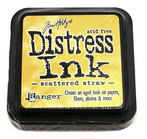 Ranger Distress Ink Scattered Straw 75 x 75 mm 1Stk