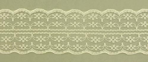 Tüllspitze Nostalgia ca. 5 cm breit creme 0,5m