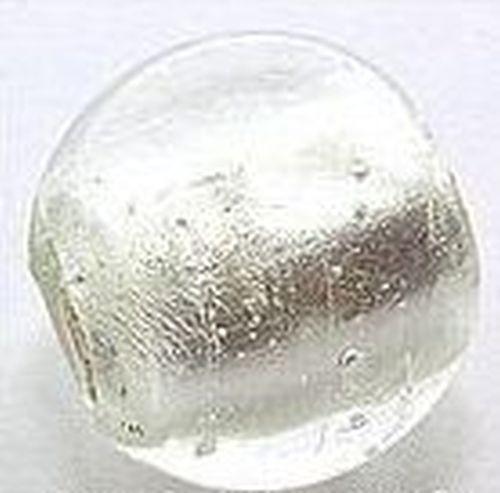 Silverfoil-Kugel, klar #02, ca. 17mm
