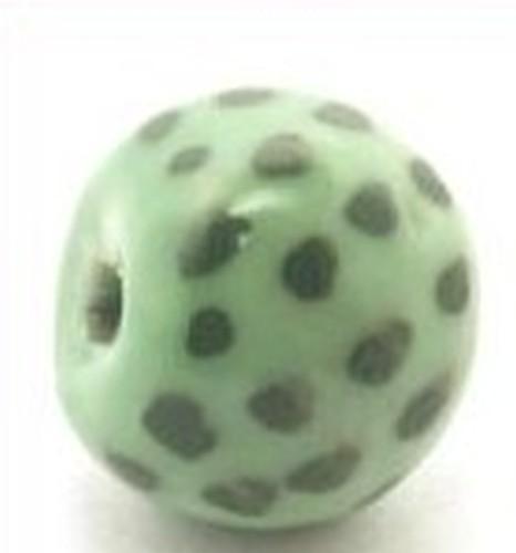 Keramikperle Katika ca. 18mm mint