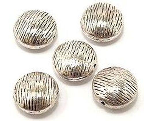 Metallmünzen ca. 10mm altsilberfarben
