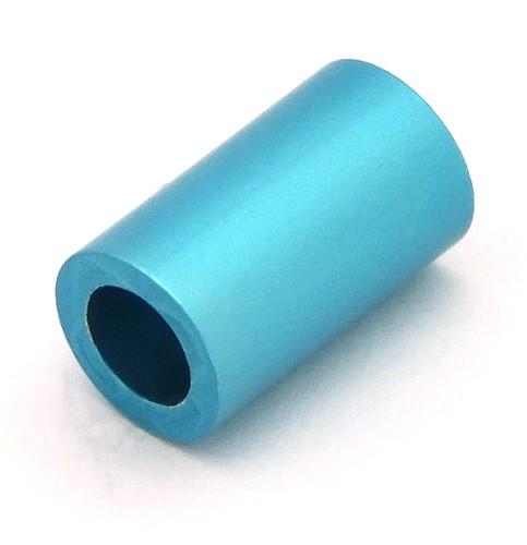 Loxalu® Beads Röhrchen ca. 10 x 6mm rauch-mint 1Stk