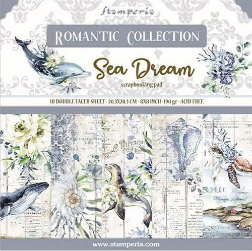 Stamperia Papierset Sea Dream 20,3 x 20,3 cm