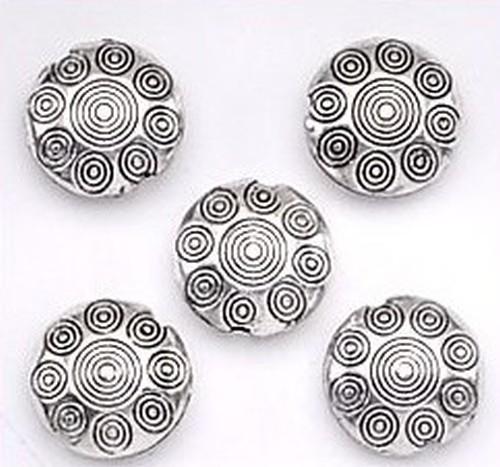 Mandalamünzen altsilber ca. 17mm (yl-8122) 5Stk