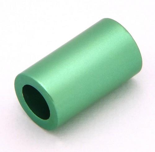 Loxalu® Beads Röhrchen ca. 10 x 6mm hellsmaragd