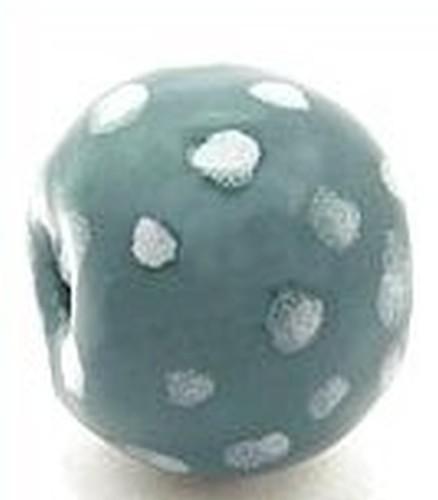 Keramikperle Katika ca. 18mm petrol