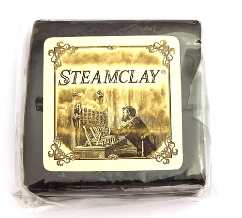 Steamclay® - ofenhärtende Modelliermasse schwarz-braun ca. 85g