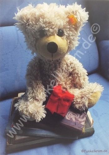"""Teddykarte """"Liebe Grüsse..."""""""