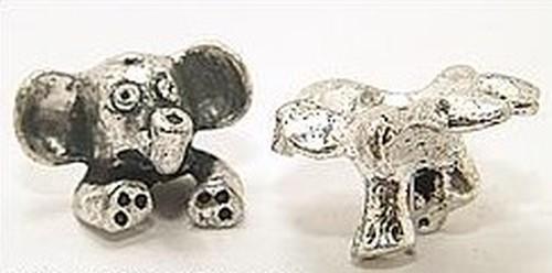 Funkelfant Lola im Tütü für Perlen von ca. 12-14mm Größe 1Stk