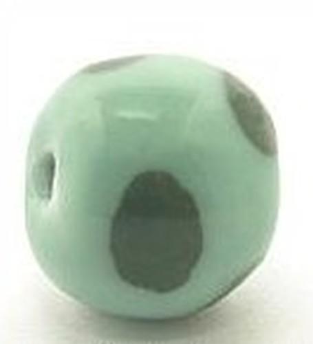 Keramikperle Kikubwa ca. 18mm mint 1Stk