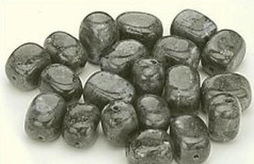Larvikit (Naturstein) Nuggets ca. 10 x 14mm 20Stk