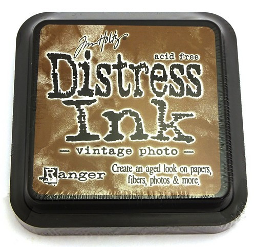 Ranger Distress Ink Vintage Photo 75 x 75 mm 1Stk