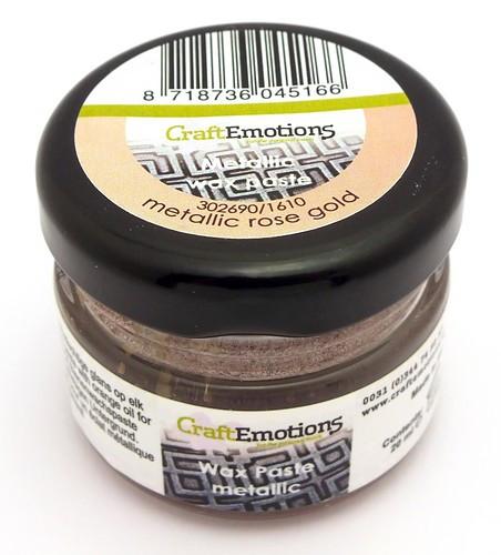 Craft Emotions Gilding Wax rose gold 20ml 1Stk