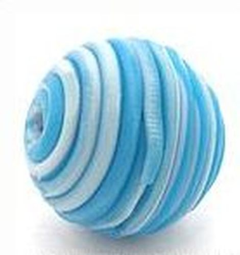 Papillon-Perle Wrappy ca. 14mm blau