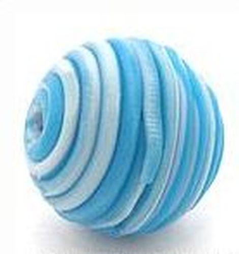 Papillon-Perle Wrappy ca. 14mm blau 1Stk