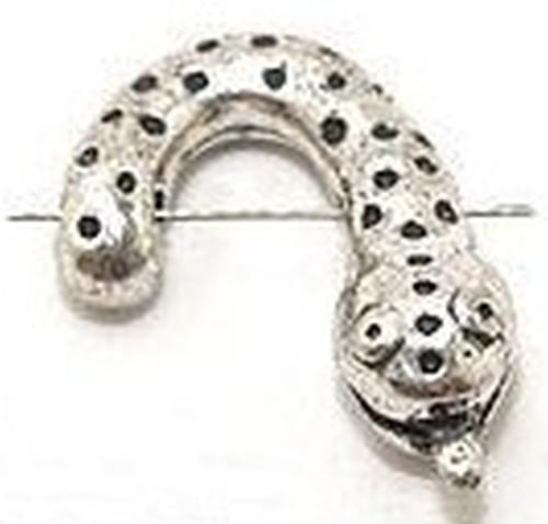 Funkelschlange - Kopf mit Zunge - ca.15 x 22mm