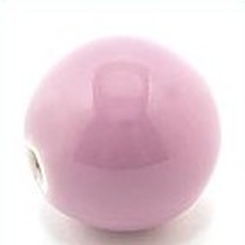 Keramikperle Pasipo ca. 18mm lavendel