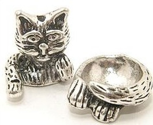 Funkelkater groß für Perlen von ca. 17-22 mm Größe