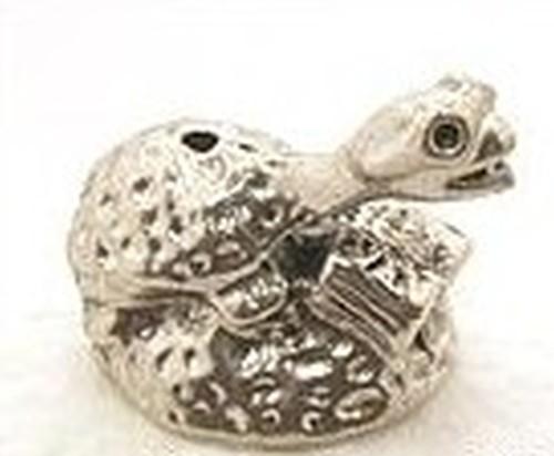 Leseschildkröte ca. 20 x 16mm für Perlen ab ca. 18mm 1Stk