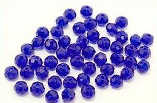 Glasschliffkugeln ca. 4mm #18 tintenblau 50Stk