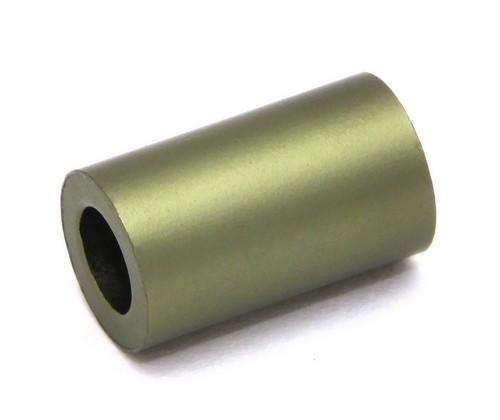 Loxalu® Beads Röhrchen ca. 10 x 6mm khaki