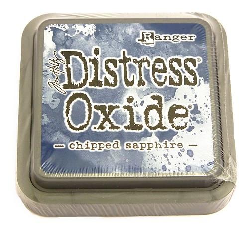 Ranger Distress Oxide Chipped Sapphire 75 x 75 mm 1Stk