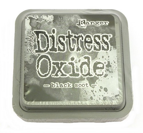 Ranger Distress Oxide Black Soot 75 x 75 mm 1Stk