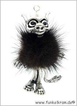Trollando Krimskrams Kette schwarzbraun ca. 90mm