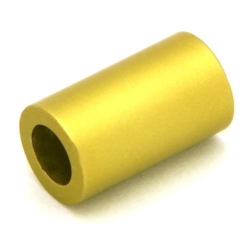 Loxalu® Beads Röhrchen ca. 10 x 6mm hellolive 1Stk