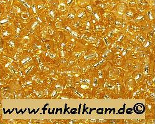 Rocailles ca. 2mm #22 goldfarben 25g
