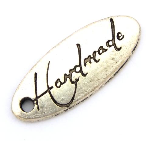 Bild: metallanhänger handmade