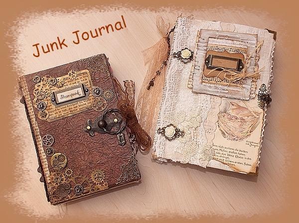 Junk Journals selber basteln DIY
