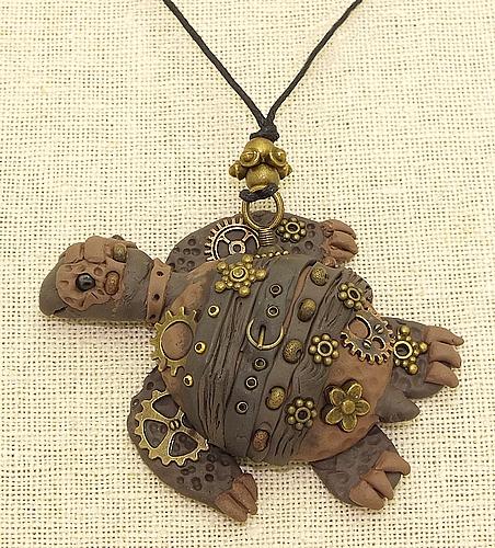 Steamclay Kette Schildkröte